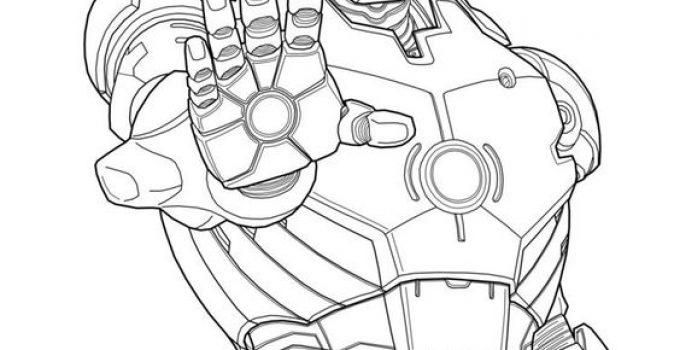 dibujos de ironman para colorear | Imagenes De Marvel