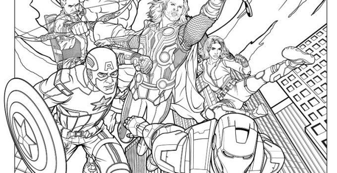 dibujos de superheroes para imprimir   Imagenes De Marvel