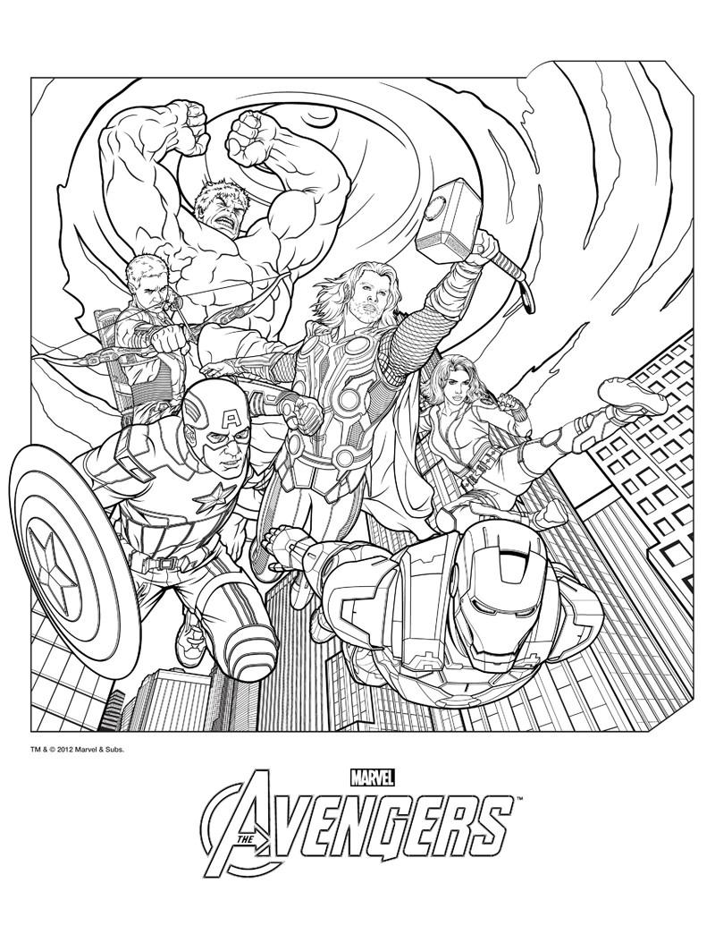 Los Mejores Dibujos De Superheroes Para Imprimir Imagenes De Marvel