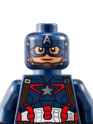 imagenes de lego marvel super heroes capitan
