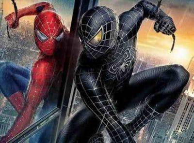 imagenes de spiderman negro malo