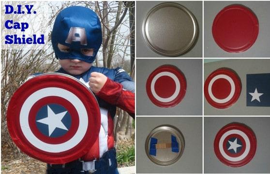 trajes de capitan america para niños como hacer