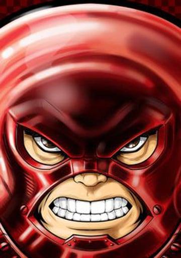 villanos de comics rojos