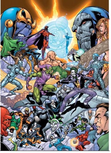 batallas de marvel villanos