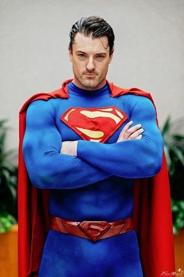 batman vs superman cosplay quien gana