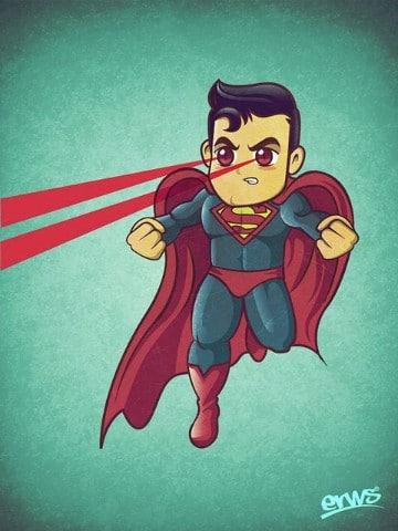 caricaturas de superman en español