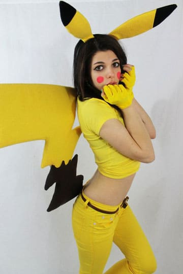 cosplays de pokemon cosplays de pokemon pikachu