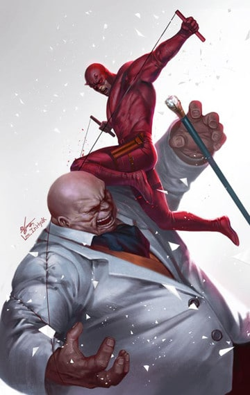 enemigos de daredevil marvel