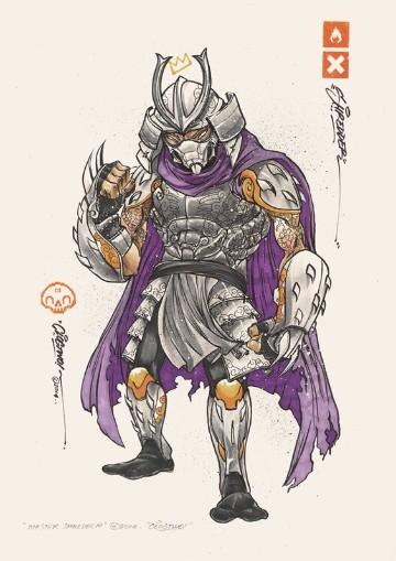 enemigos de las tortugas ninja villanos