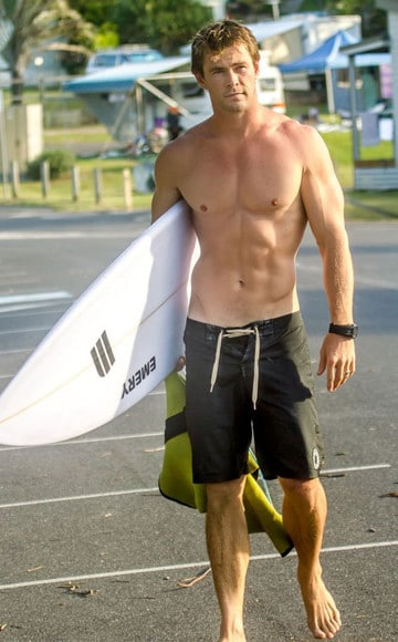 imagenes de chris hemsworth sin camisa