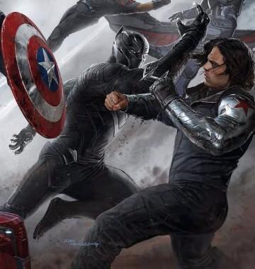 imagenes de pantera negra marvel civil war