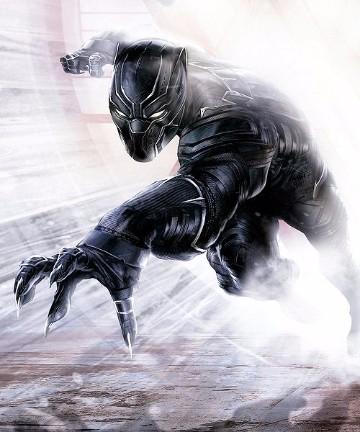 imagenes de pantera negra marvel para dibujar