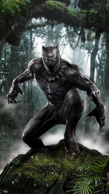 imagenes de pantera negra marvel poderes