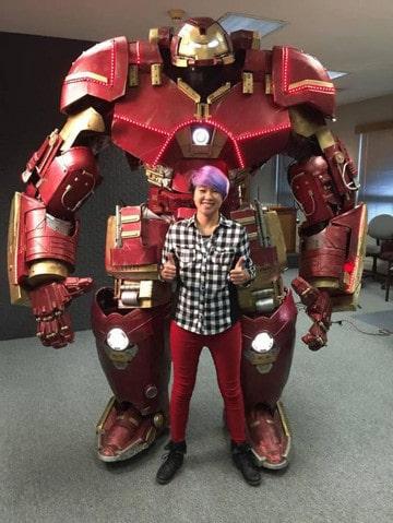 iron man hulkbuster cosplay marvel