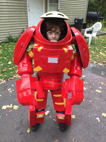 iron man hulkbuster cosplay para niño
