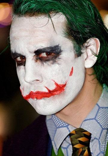 maquillajes de joker batman