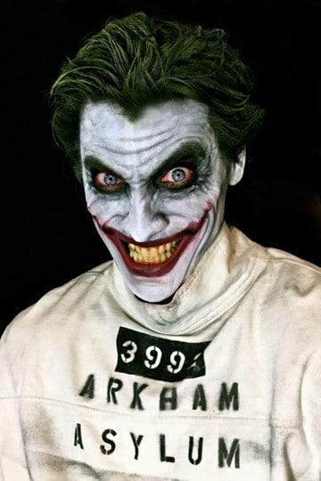 maquillajes de joker disfraz
