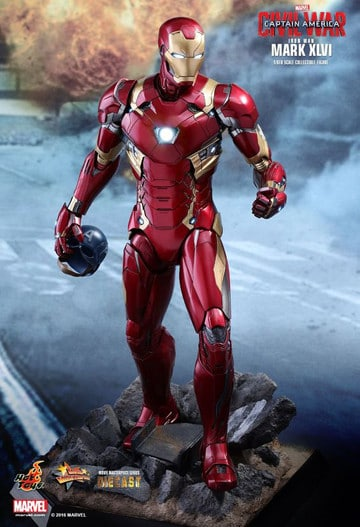 marvel juguetes iron man