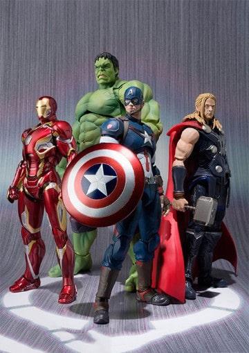 muñecos de superheroes originales