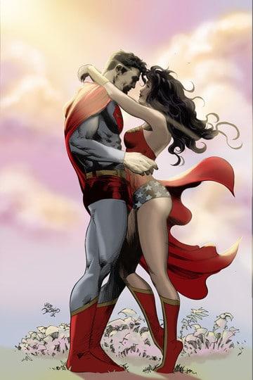 parejas de superheroes dc