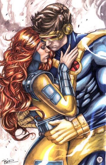 parejas de superheroes romanticos