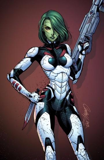 personajes femeninos de marvel comics