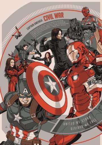 posters de civil war para colorear