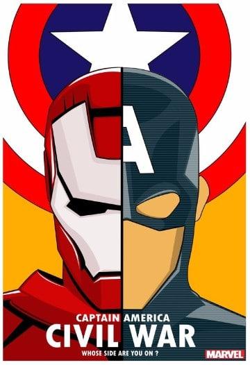 posters de civil war pelicula