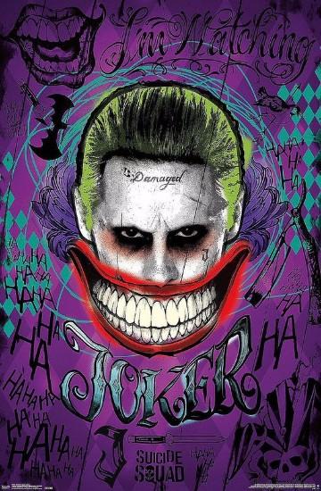 posters suicide squad batman