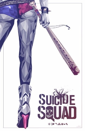 posters suicide squad harley quinn