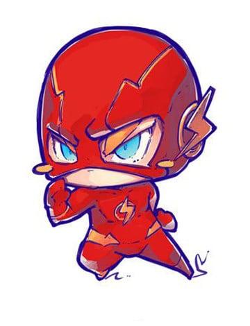 super heroes infantiles flash