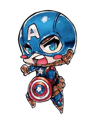 super heroes infantile -para colorear
