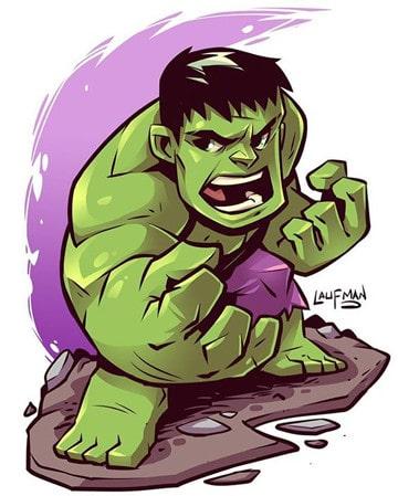 caricaturas de hulk el hombre verde