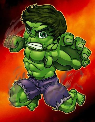 caricaturas de hulk gratis