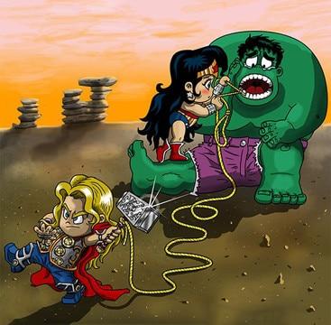 caricaturas de hulk para niños