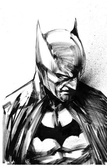 dibujos de batman a lapiz faciles