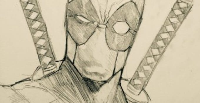 Imagenes Para Colorear De Deadpool: Dibujos De Deadpool A Lapiz