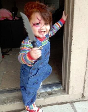 disfraces de halloween para niñas de chuky