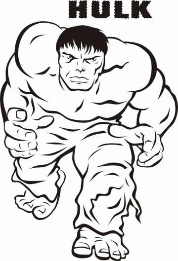 Increibles imagenes de hulk para colorear e imprimir | Imagenes De ...