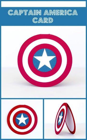 Invitaciones De Capitan America Para Editar E Imprimir