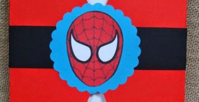 spiderman para editar diseos de invitaciones del hombre araa editables