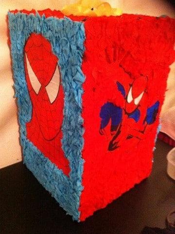 piñatas del hombre araña casera