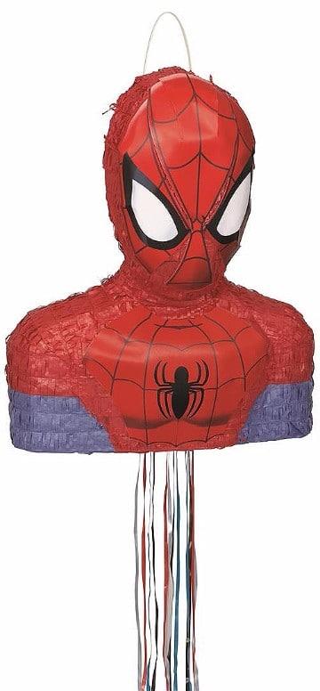piñatas del hombre araña niño