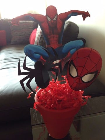 souvenirs del hombre araña para cumpleaños