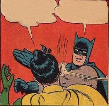 batman pegandole a robin para descargar
