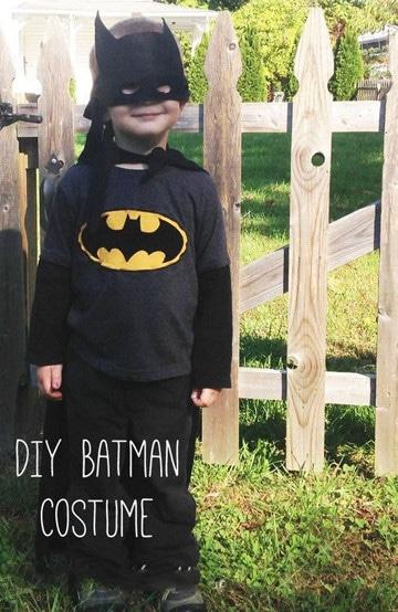 como hacer un disfraz de batman original