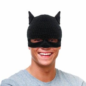 como hacer una mascara de batman de tela