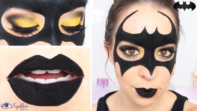 como hacer una mascara de batman para mujer