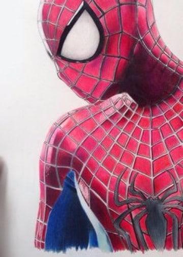 Dibujos de spiderman a color a lapiz para imprimir - Dibujos en colores para imprimir ...