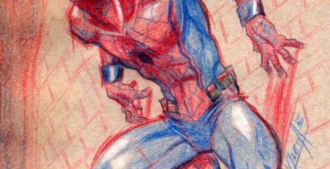 Dibujos De Spiderman Fotos Diseños Para Pintar Foto: Como Pintar Dibujos Con Colores